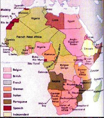 Pinkmonkey world history study guide 104 imperialism in africa publicscrutiny Image collections
